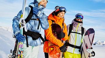 dames wintersportjassen